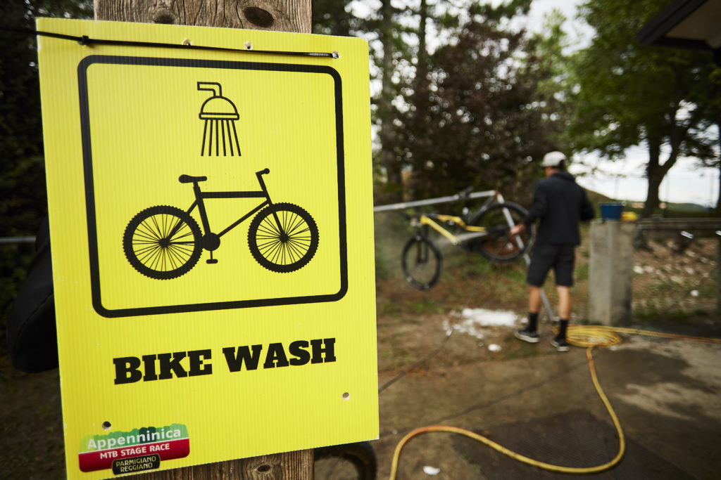 bike wash Appenninica MTB